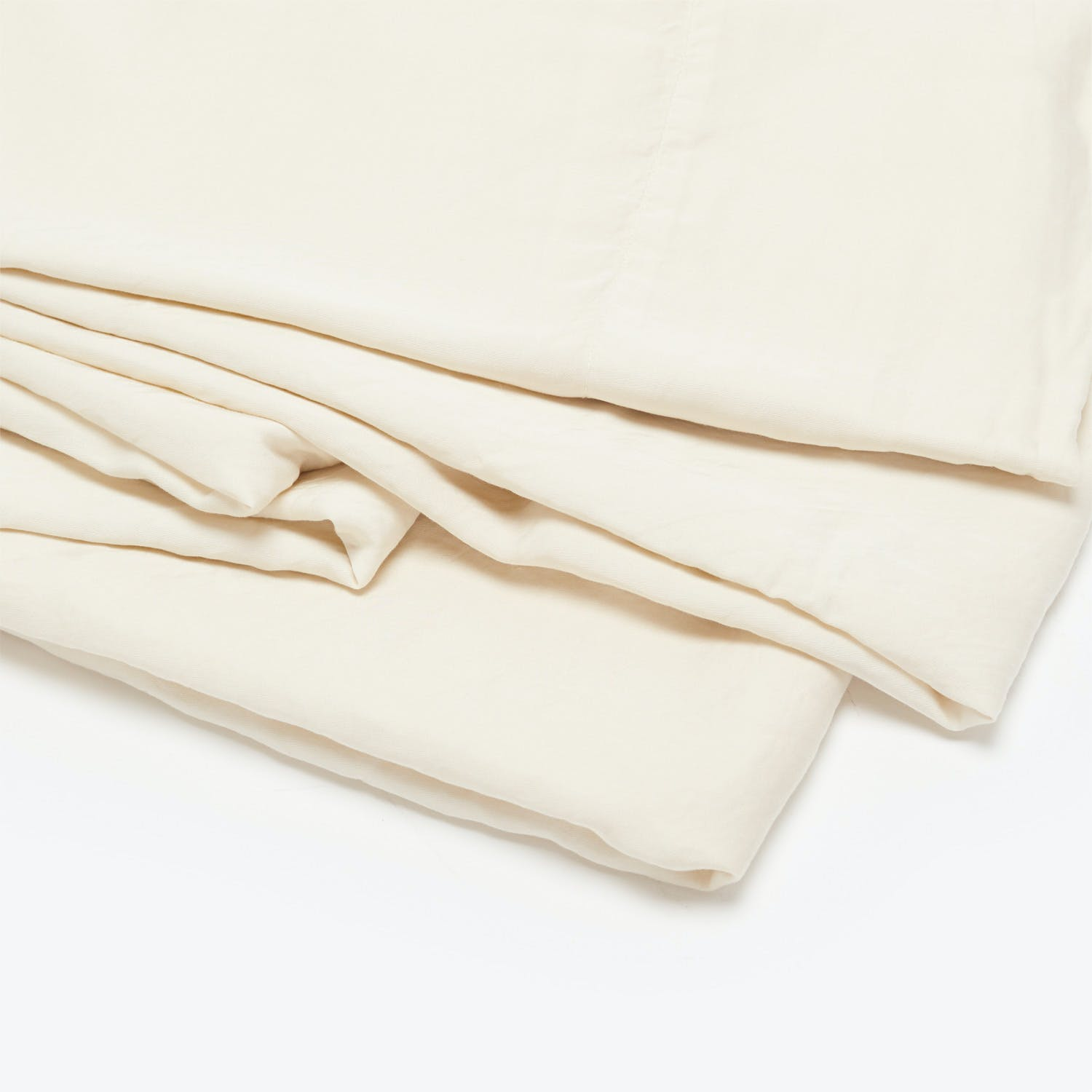 Bella Notte Madera Luxe Queen Fitted Sheet Parchment
