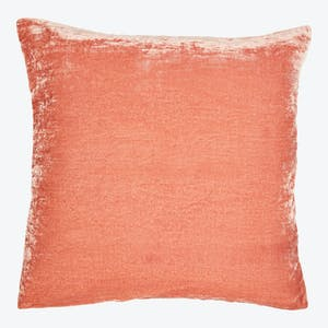 Product Image - Luminous Velvet Pillow Terracotta