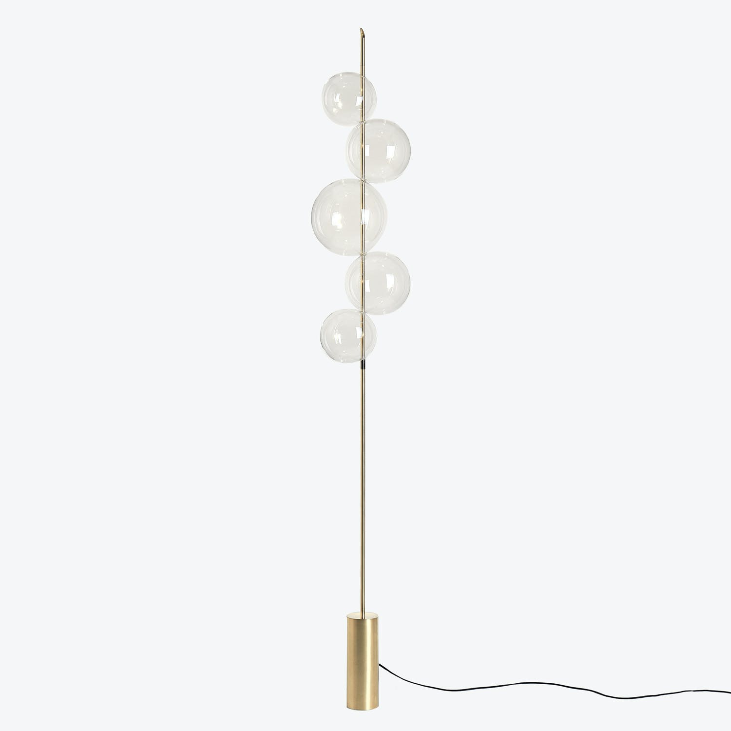 Product Image - 5-Orb Glass Floor Lamp