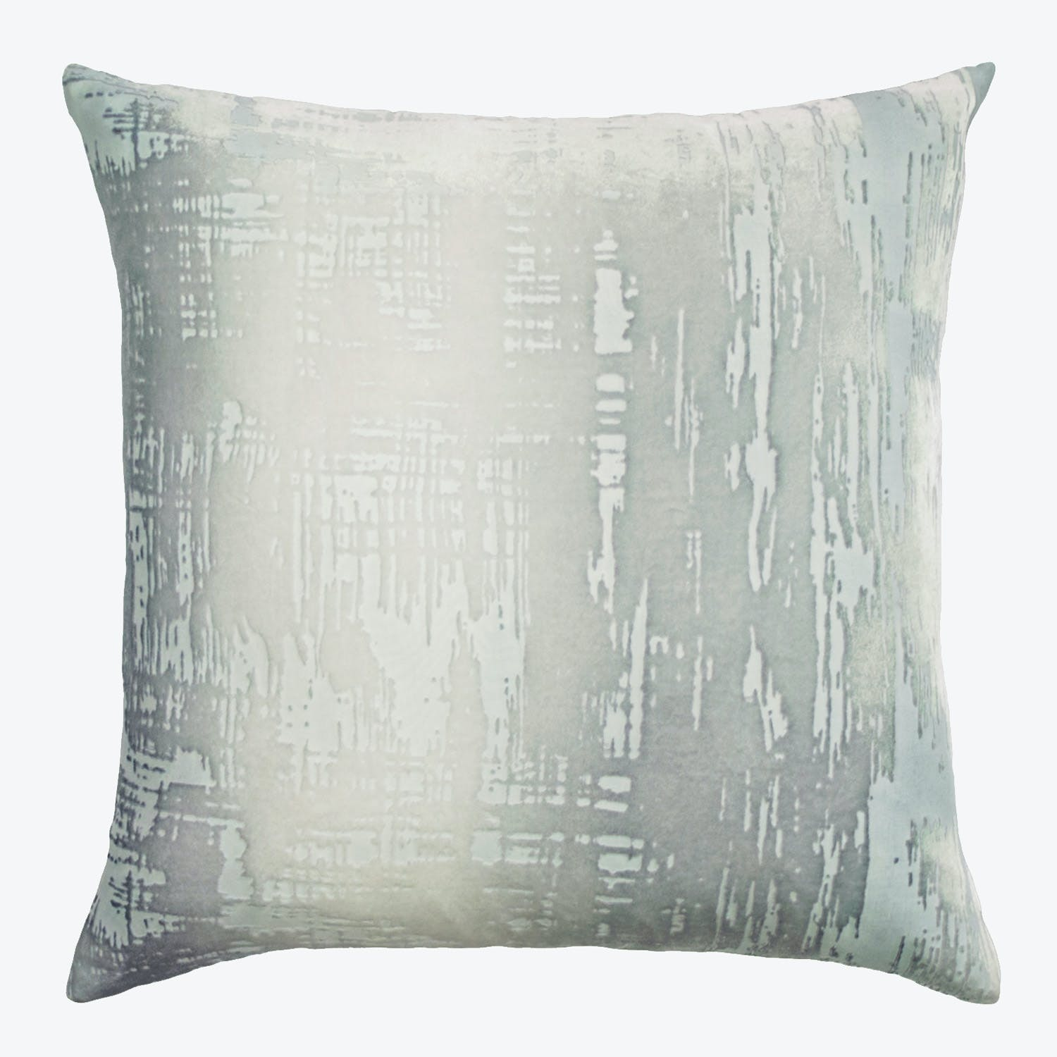 Brushstroke Velvet Pillow Mineral