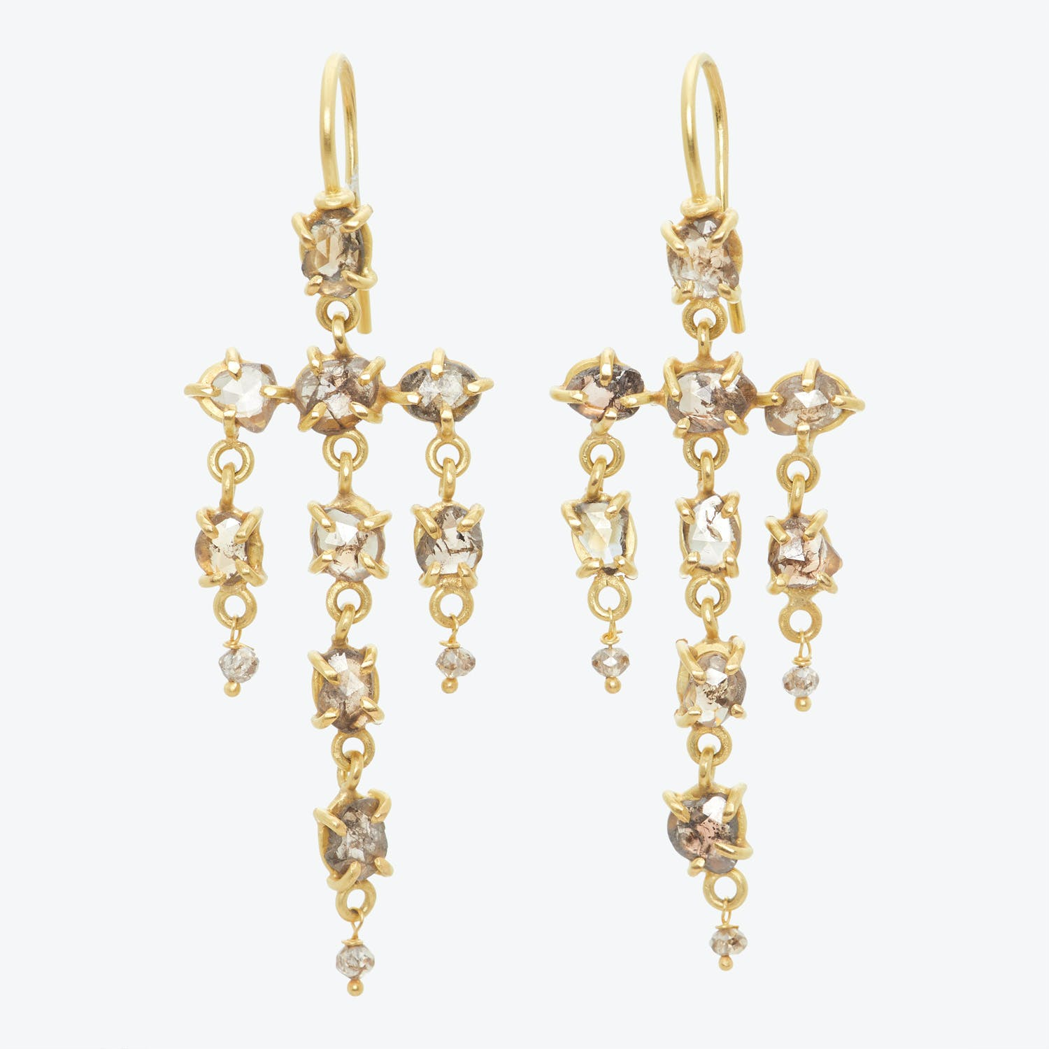 Product Image - One-of-a-kind Diamond Chandelier Earrings