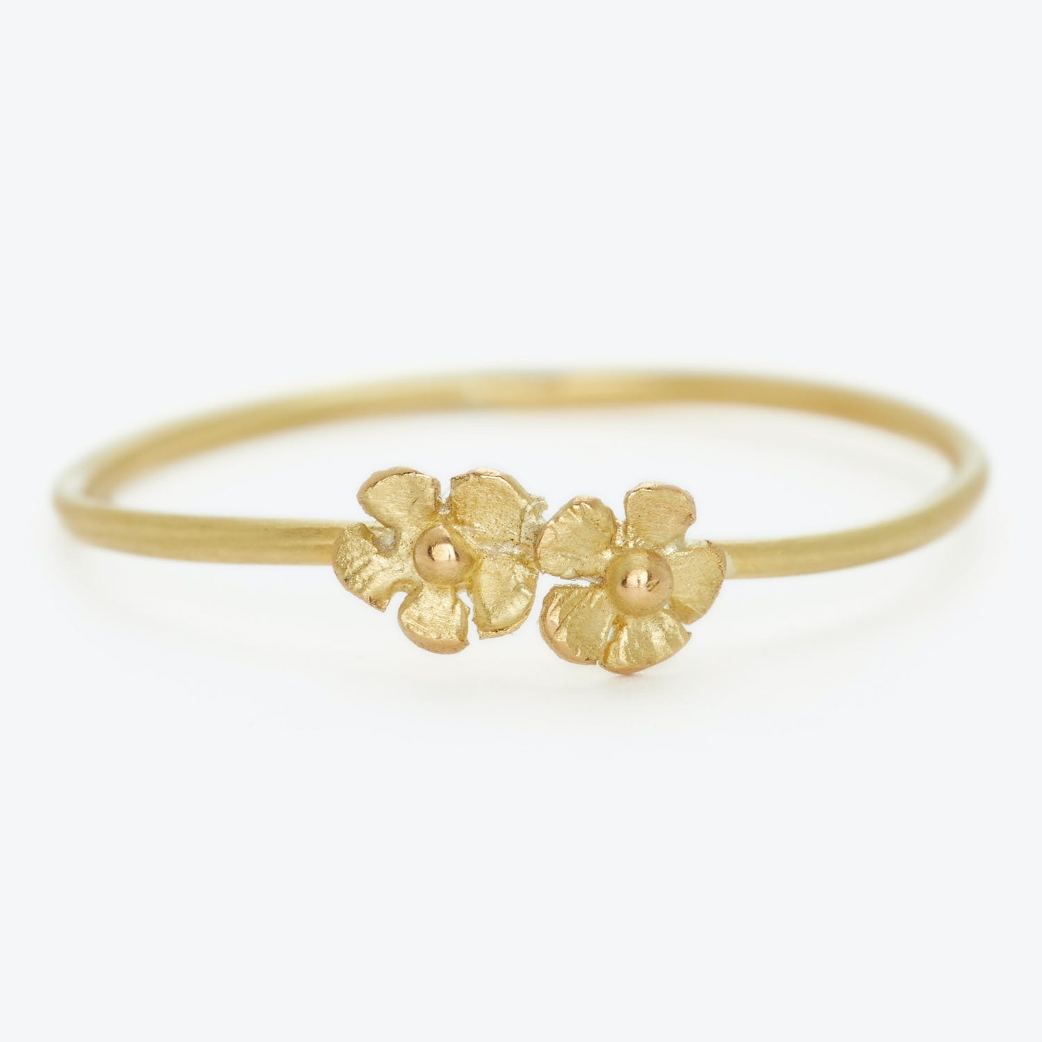 Product Image - Tiny Double Flower Ring