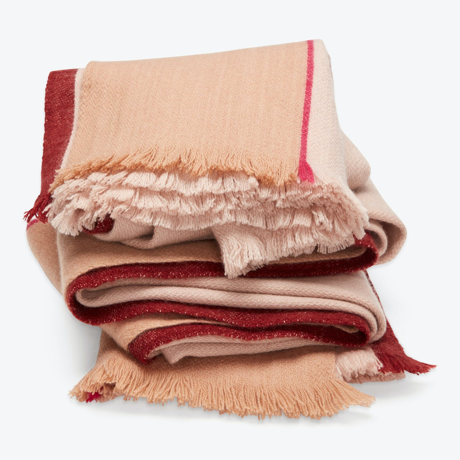 Product Image - Strata Cashmere Throw Desert Sand