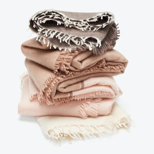 Product Image - Strata Cashmere Throw Pink Whisper