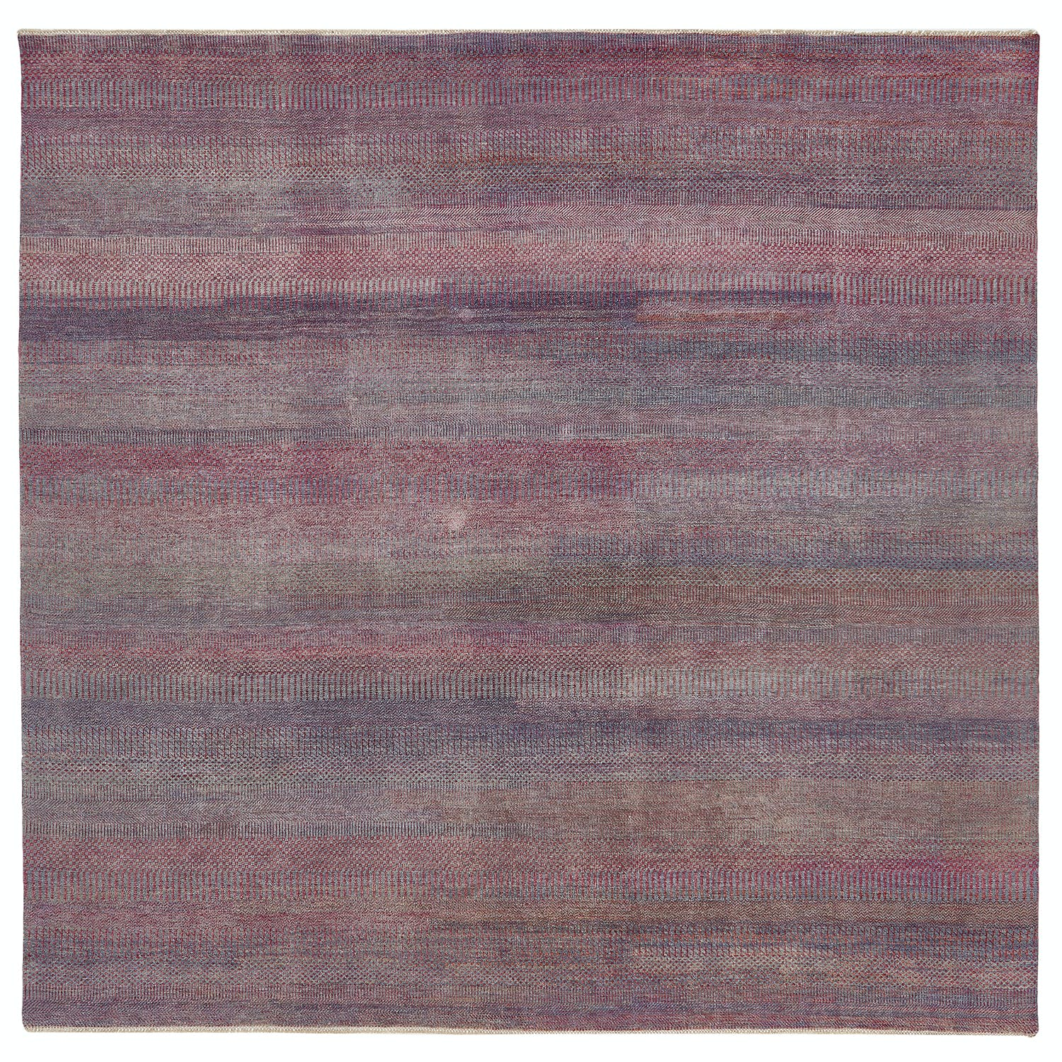 "Color Reform Overdyed Rug - 8'10"" x 8'10"""