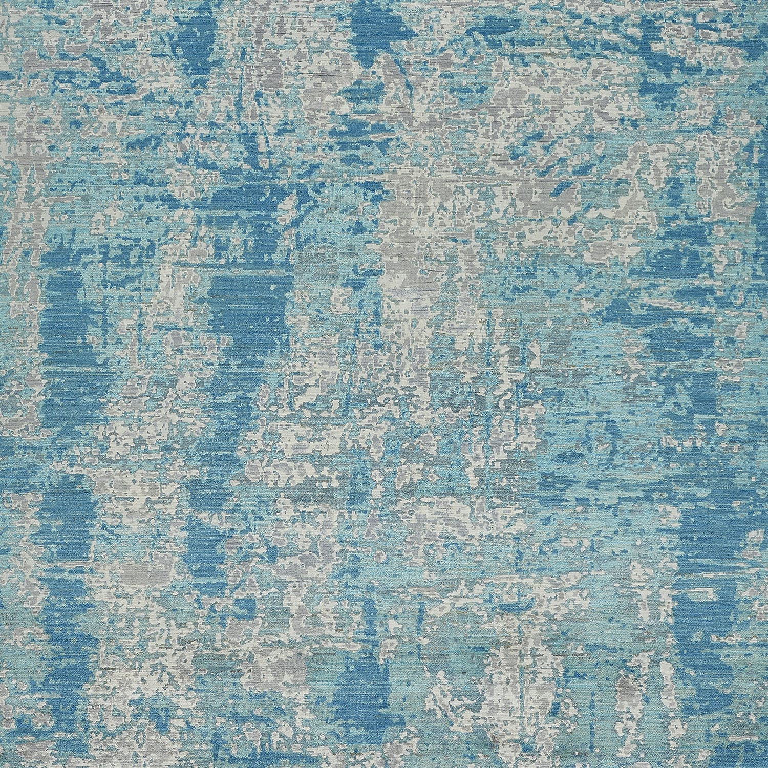 "Contemporary Abstract Wool Rug - 7'11"" x 10'2"""