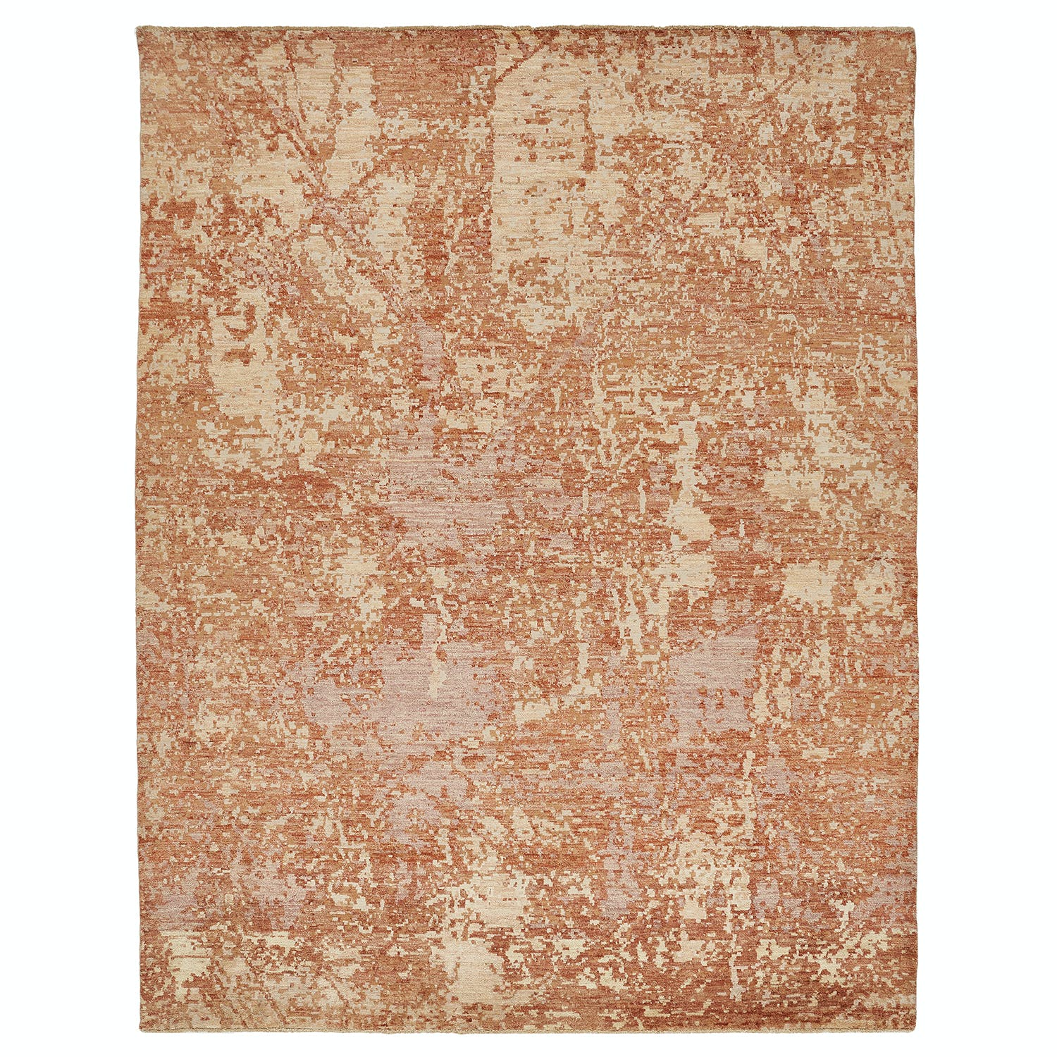 Contemporary Abstract Wool Rug - 8' x 10'2""