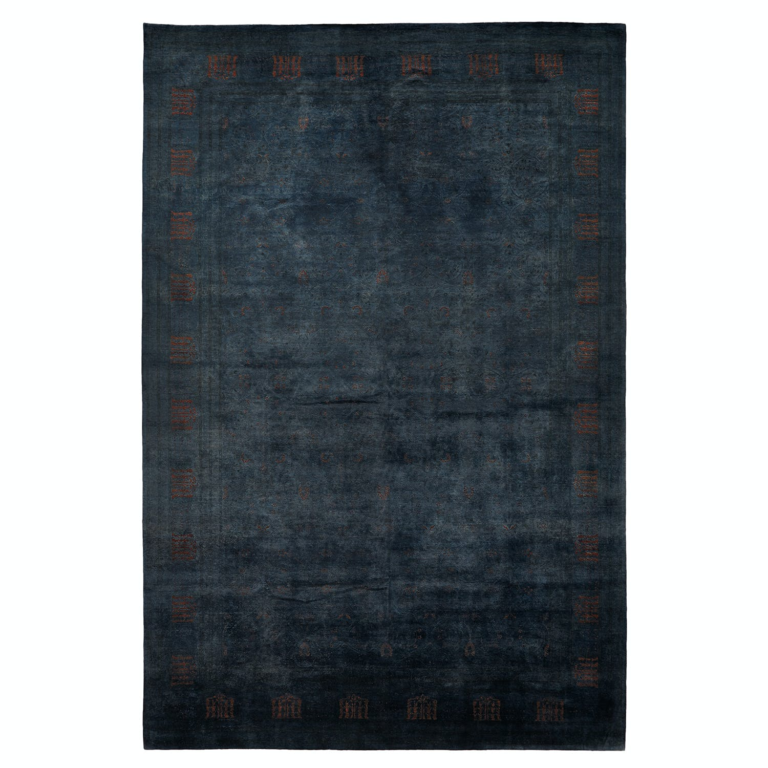 Color Reform Spectrum Overdyed Rug - 12' x 18'1""