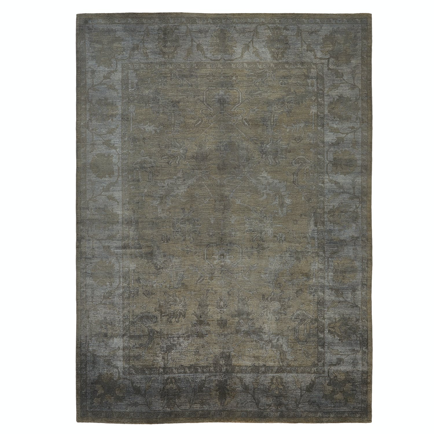 "Color Reform Spectrum Overdyed Rug - 9'11"" x 13'5"""
