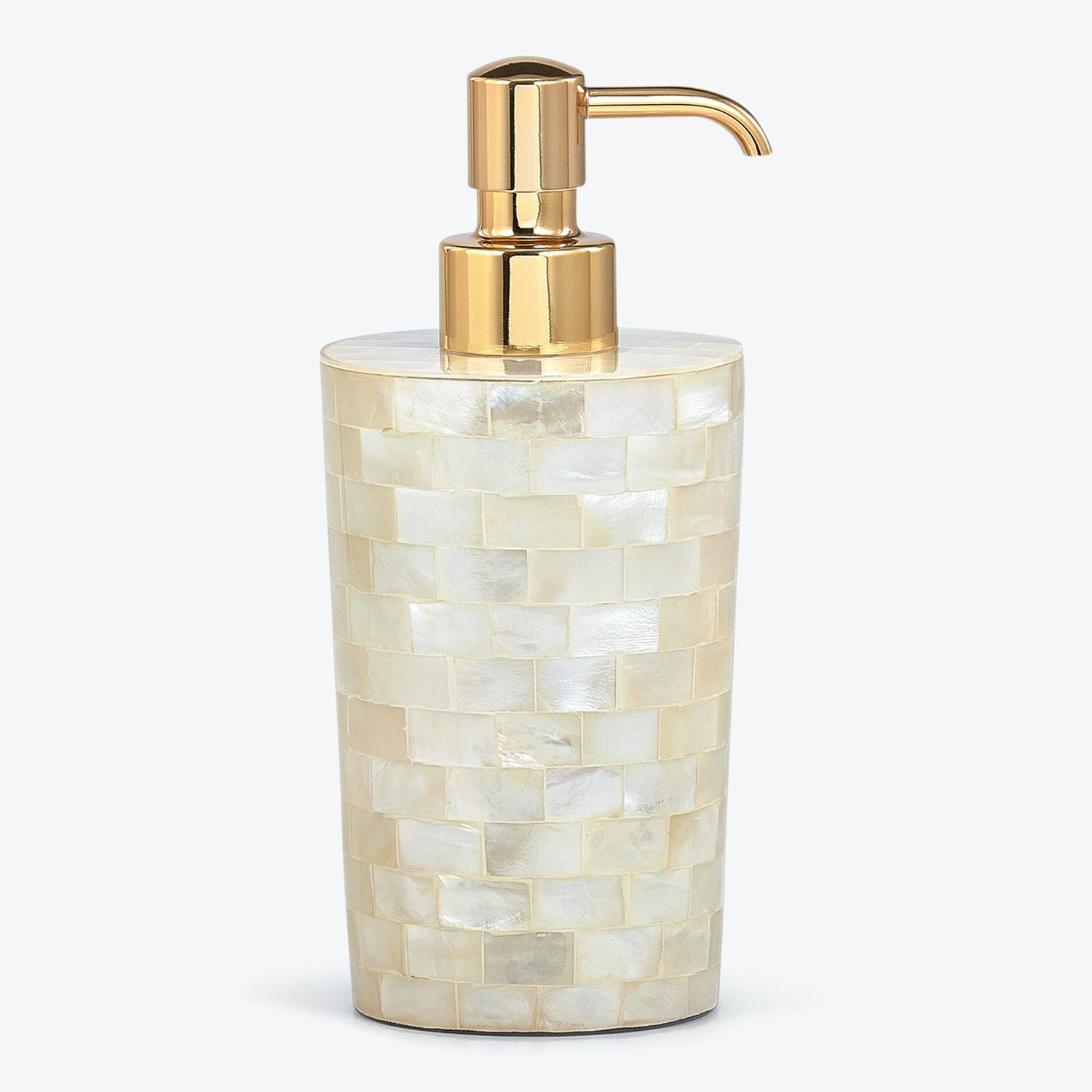 Product Image - Agate Pump Dispenser Opalescent Ivory