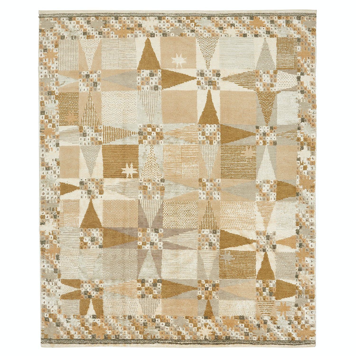 Product Image - Swedish Flat Weave Rug - 8'x10'1""