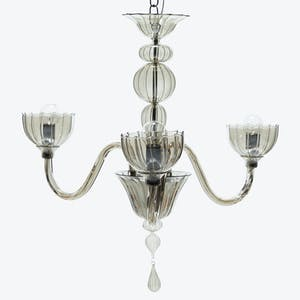 Product Image - Handblown Glass 3-Light Chandelier