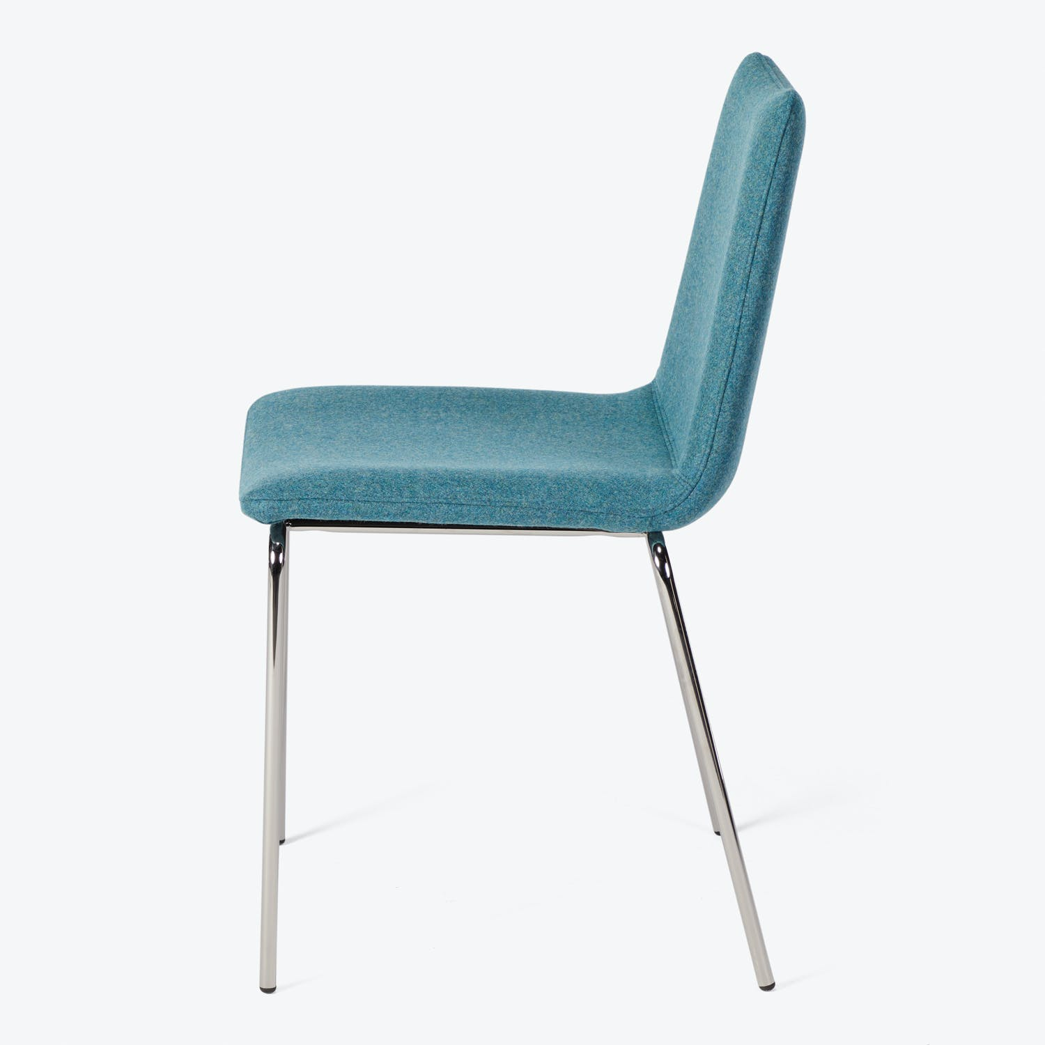 Upholstered Dining Chair Blue
