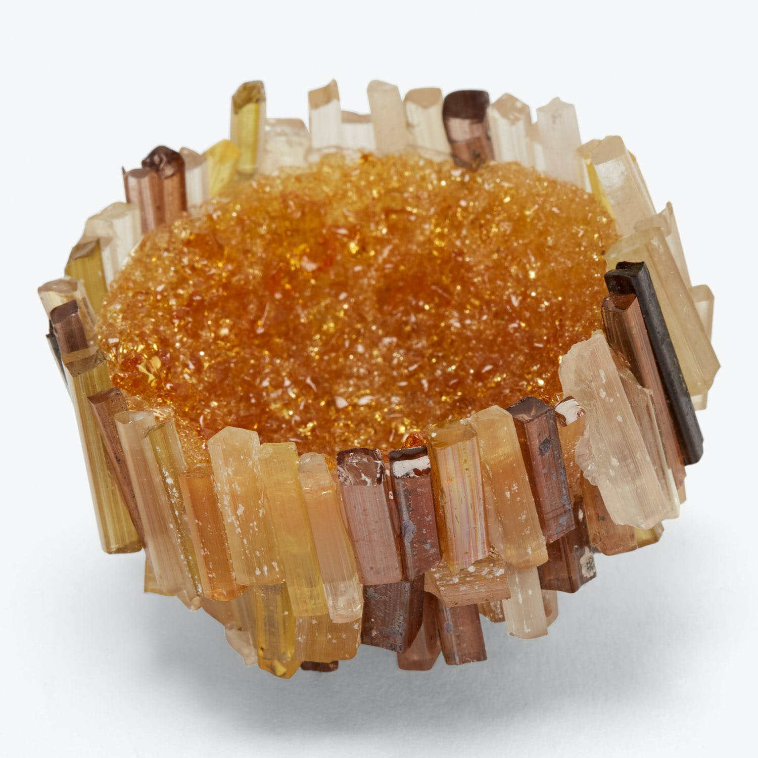 LBK Studio Extra Small Sea Urchin Bowl Amber