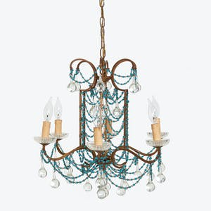 Product Image - Antique Beaded Chandelier