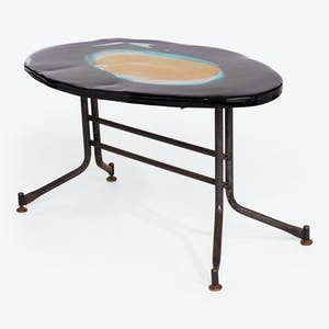 Product Image - Mid-Century Art Glass Coffee Table