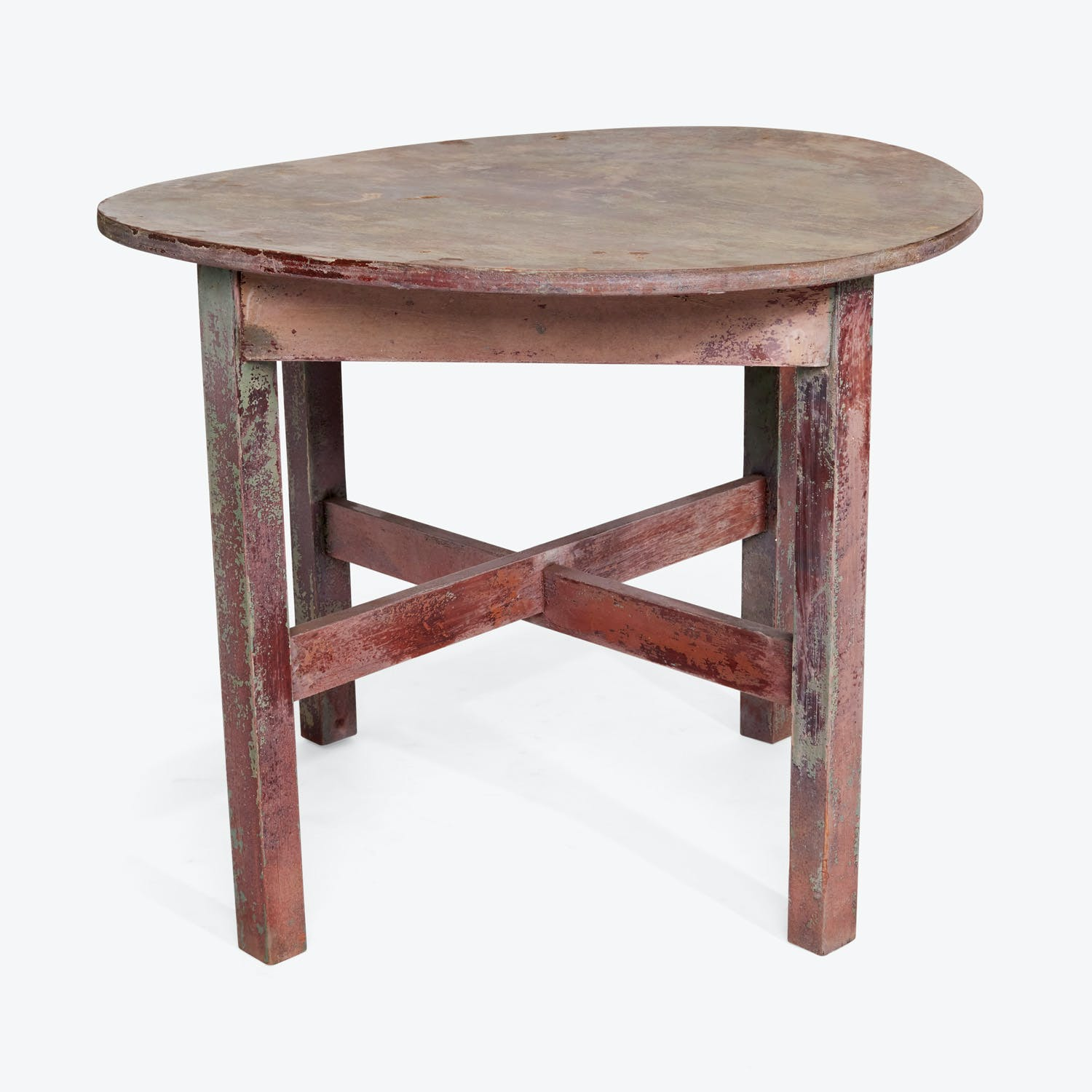 Product Image - Vintage Round Console Table