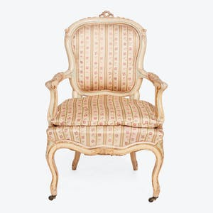 Product Image - Vintage Floral Bergere Chair