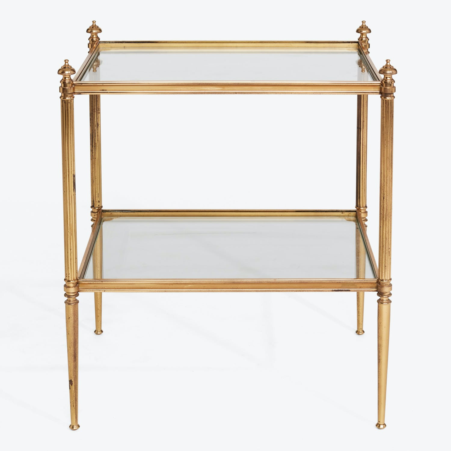 Min Century Brass Side Table Abc Home