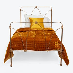 Product Image - Antique Iron Twin Bed Gold