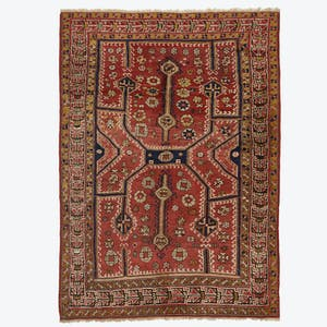 "Product Image - Vintage Turkish Rug - 5'2""x7'4"""