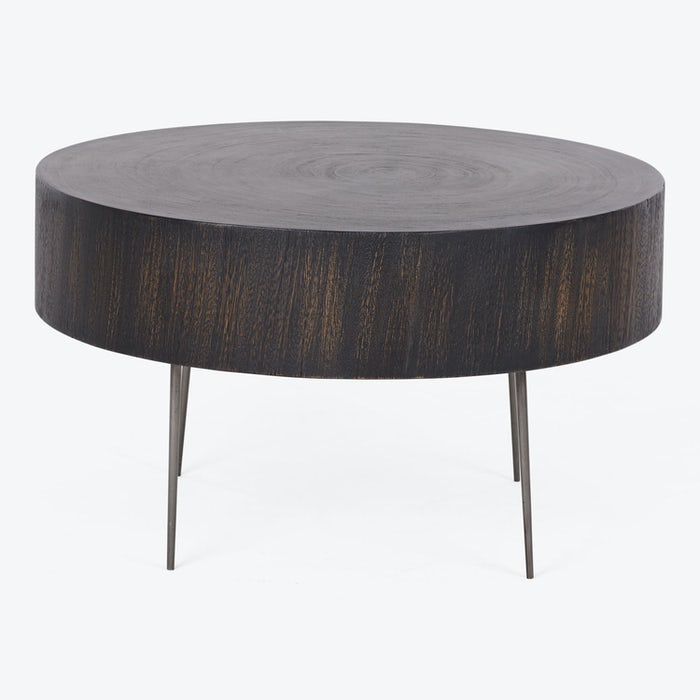 Product Image - Aged Wood Stump Coffee Table