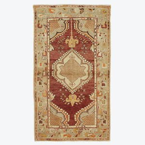 "Product Image - Vintage Turkish Rug - 3'11""x5'11"""