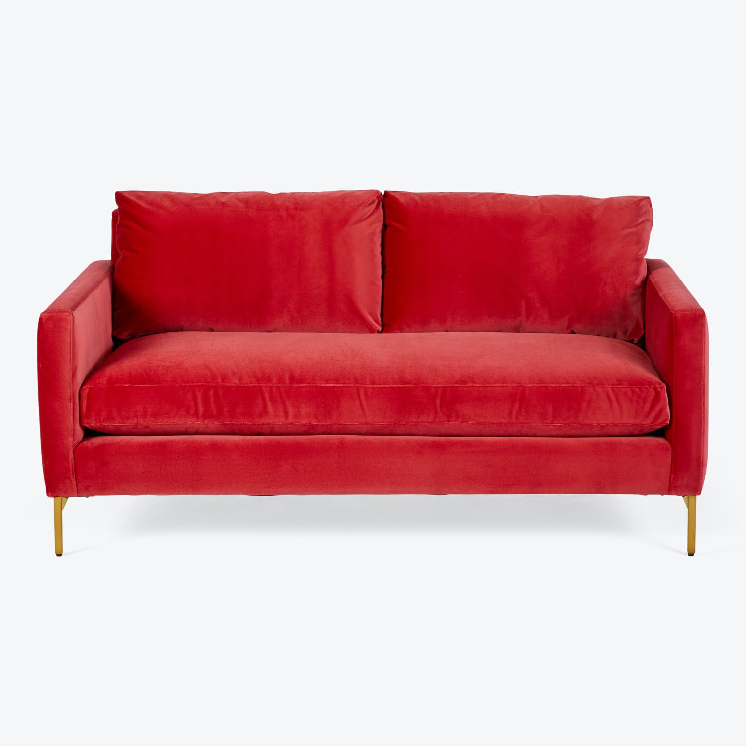 SoHo Brass Leg Sofa
