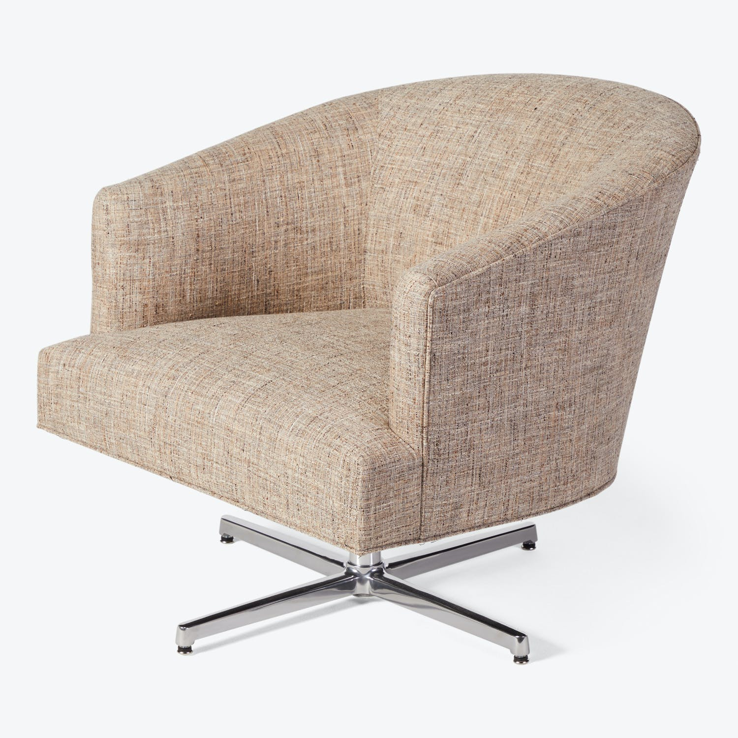 Fremont Swivel Chair Theory Latte