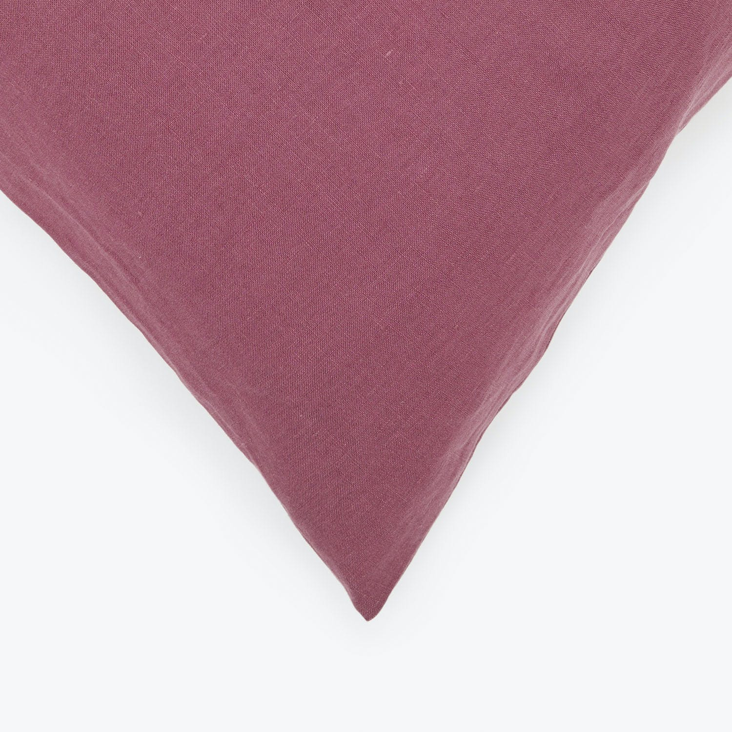 Linen Pillowcase Plum