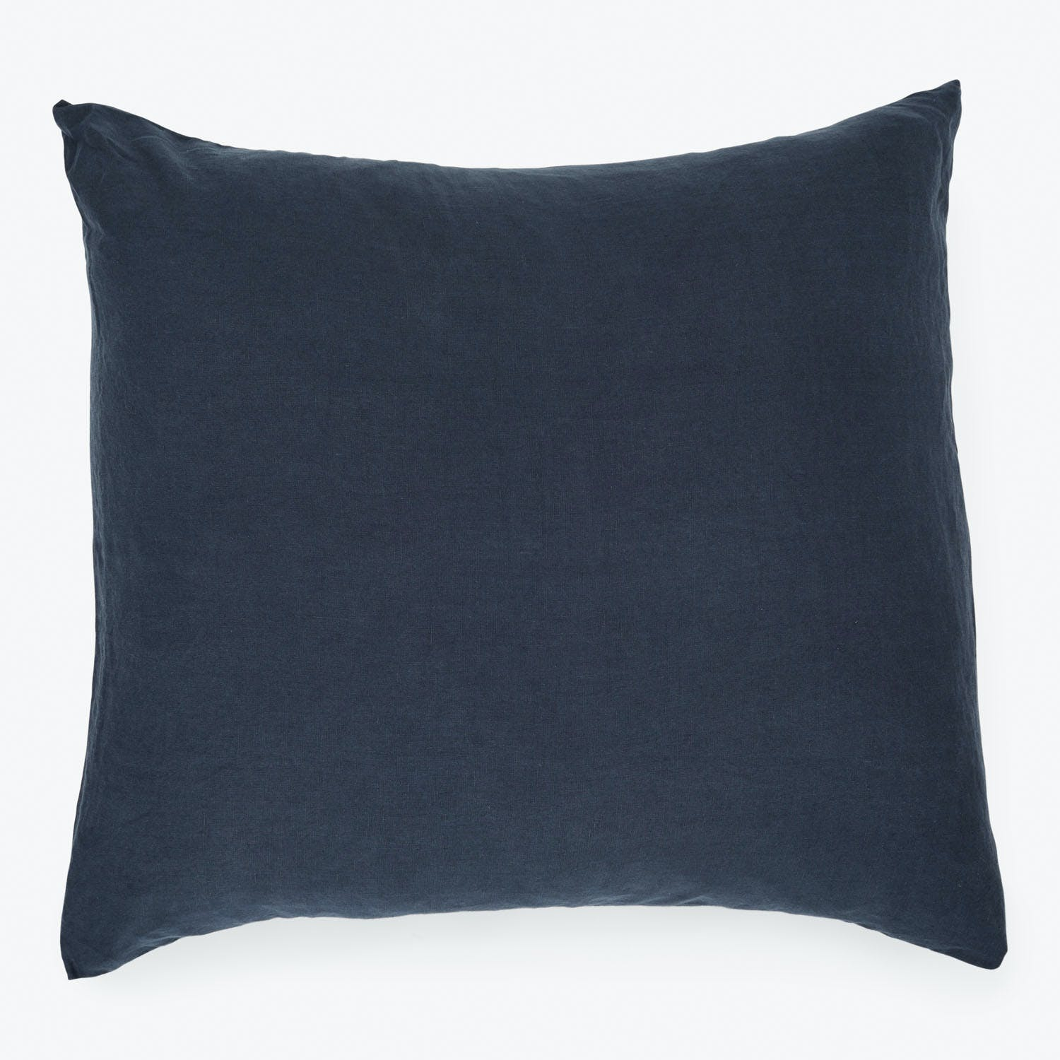 Linen Euro Sham Navy Abc Home