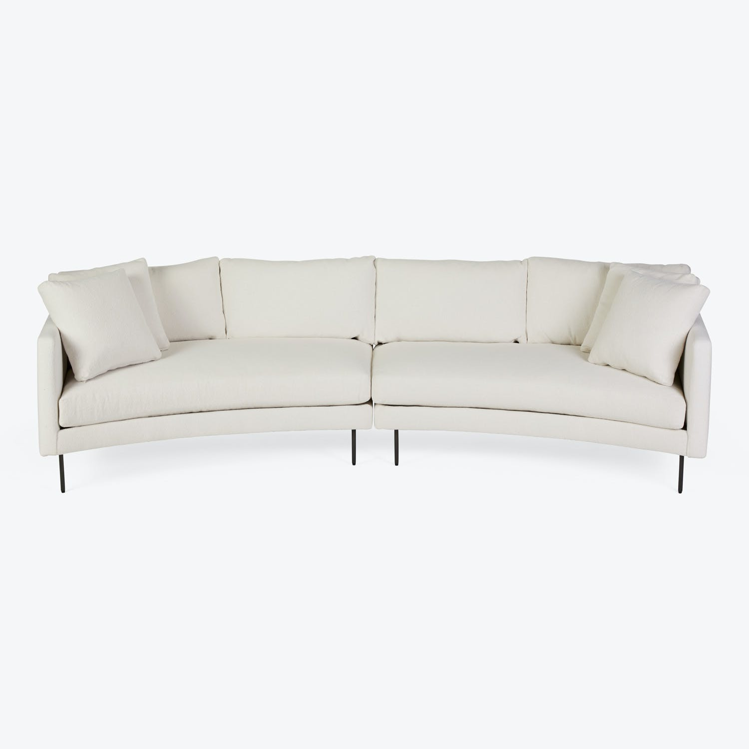 Product Image - Slice Curved 2-Piece Sofa