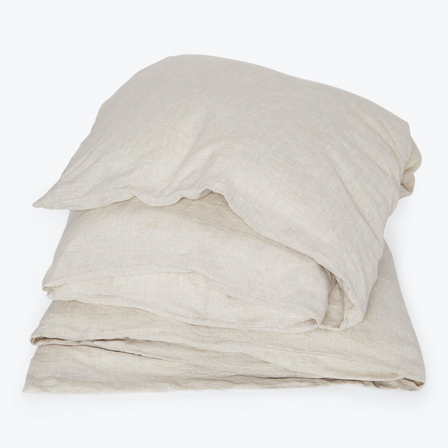 Product Image - Linen Queen Duvet Natural