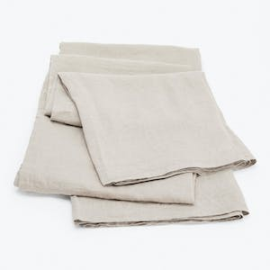 Product Image - Linen Fitted Sheet Natural