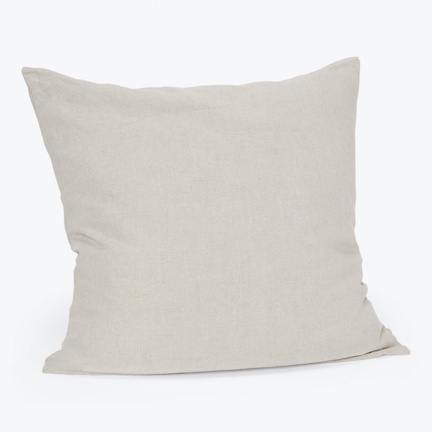 Linen Euro Sham Natural Abc Home