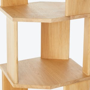 Product Image - Oak Stairs Bookcase