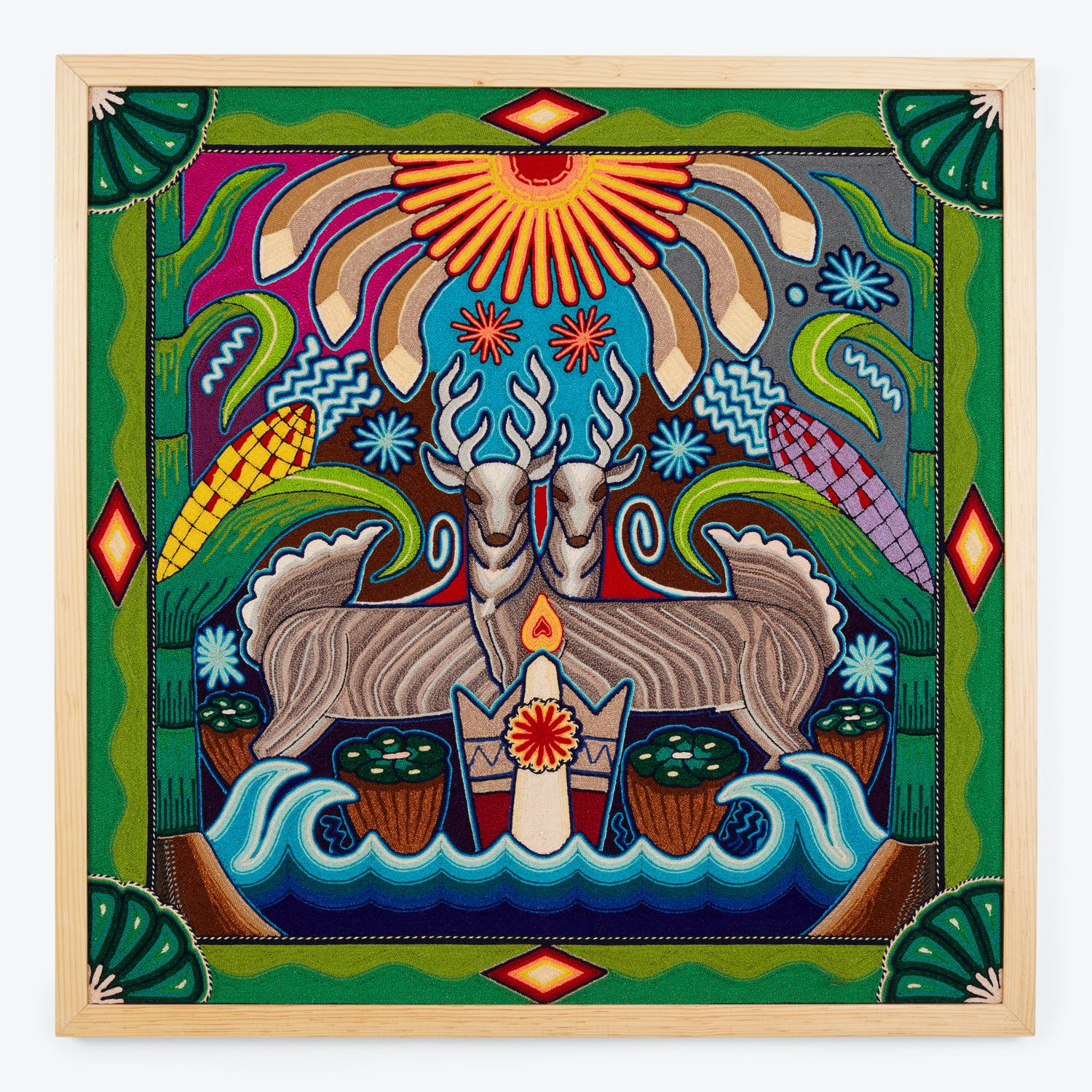 Product Image - Huichol Yarn Artwork