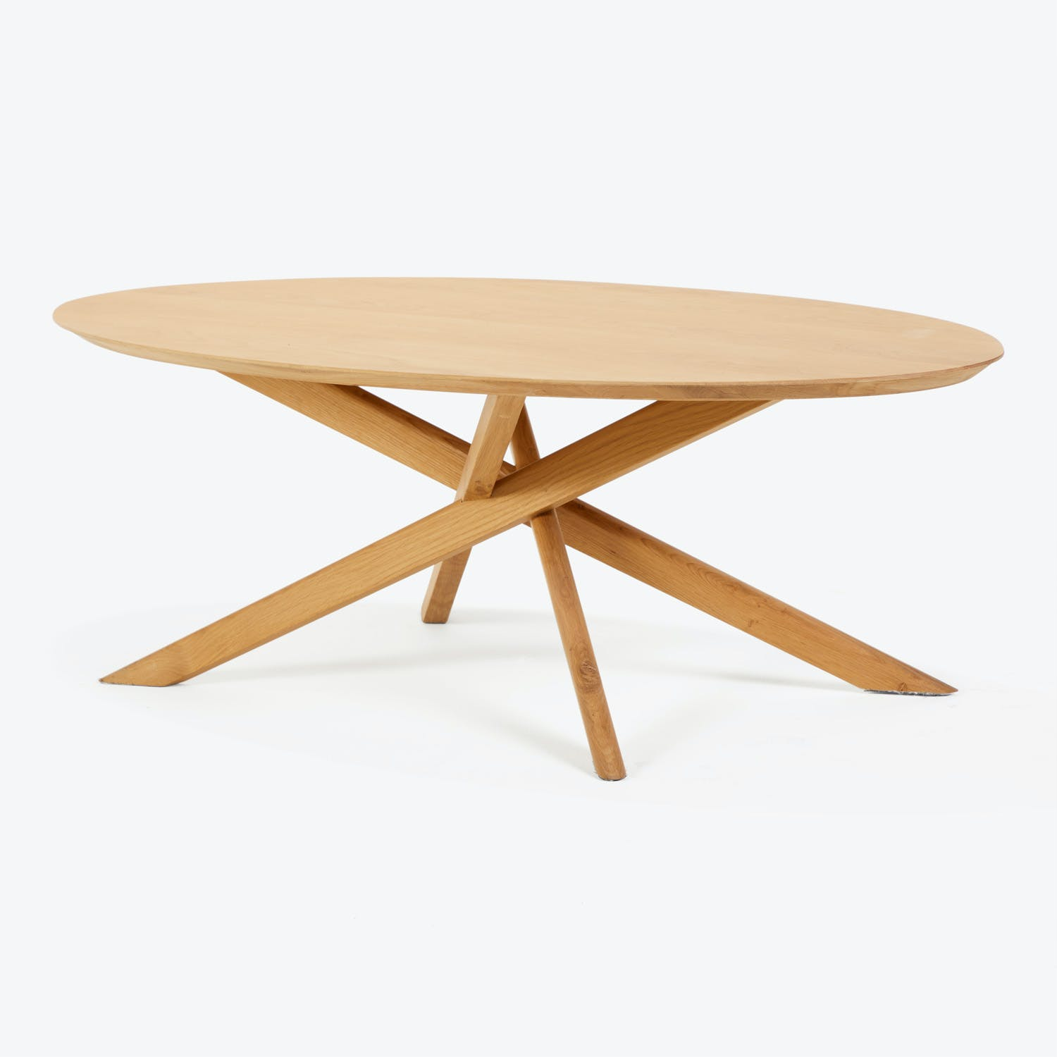 Product Image - Oak Mikado Coffee Table Oval