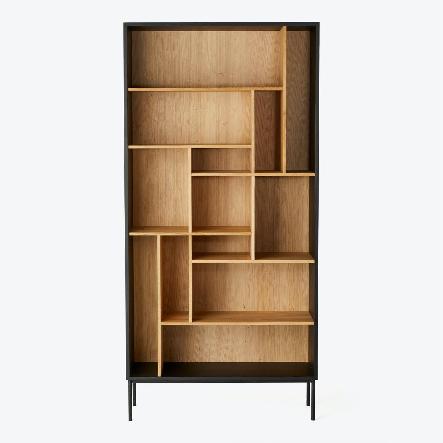 Product Image - Oak Blackbird Rack Bookcase