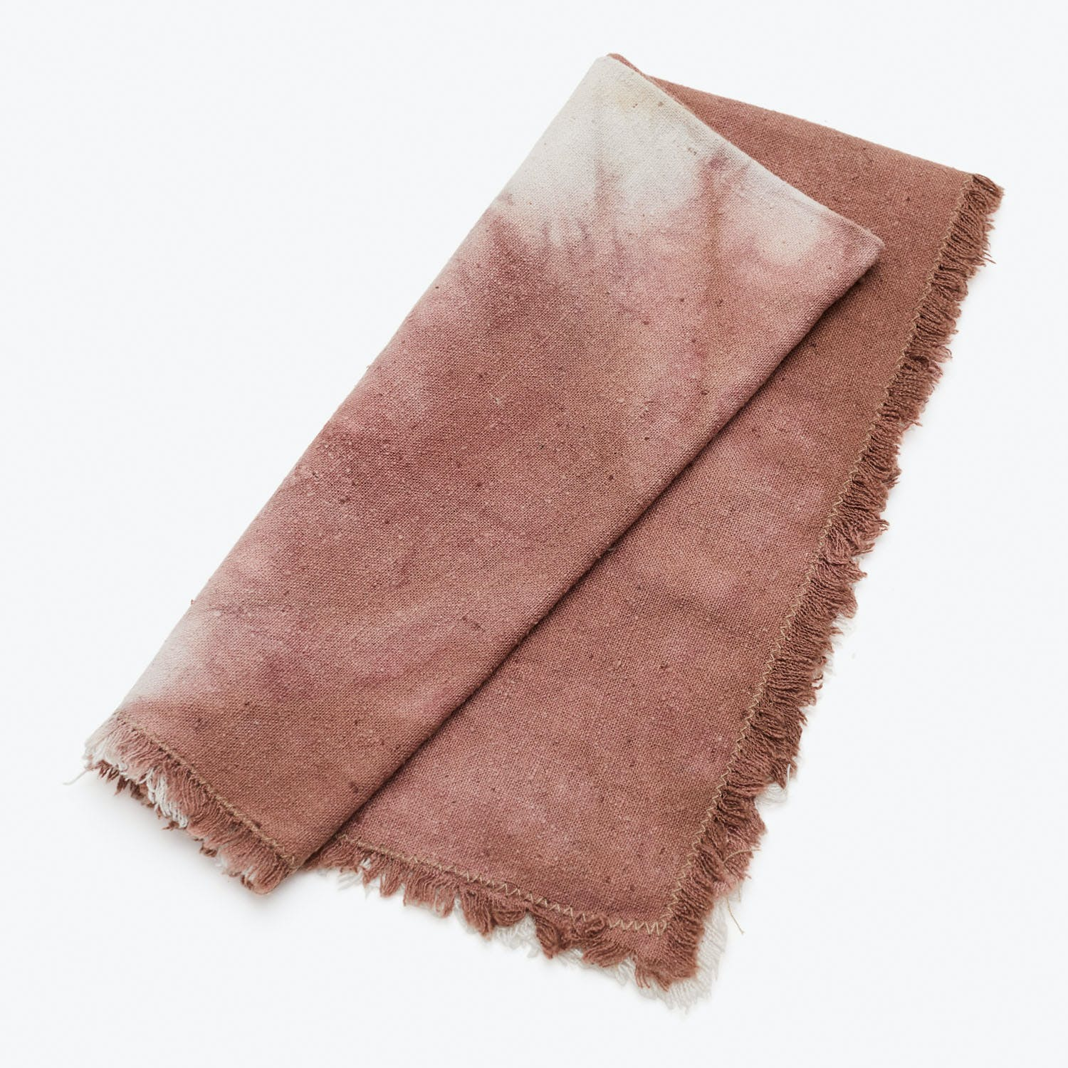 Red Wine Raw Silk Napkin