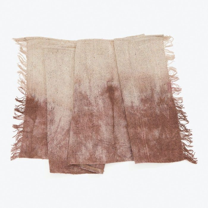 Product Image - Raw Silk Table Runner Red Wine