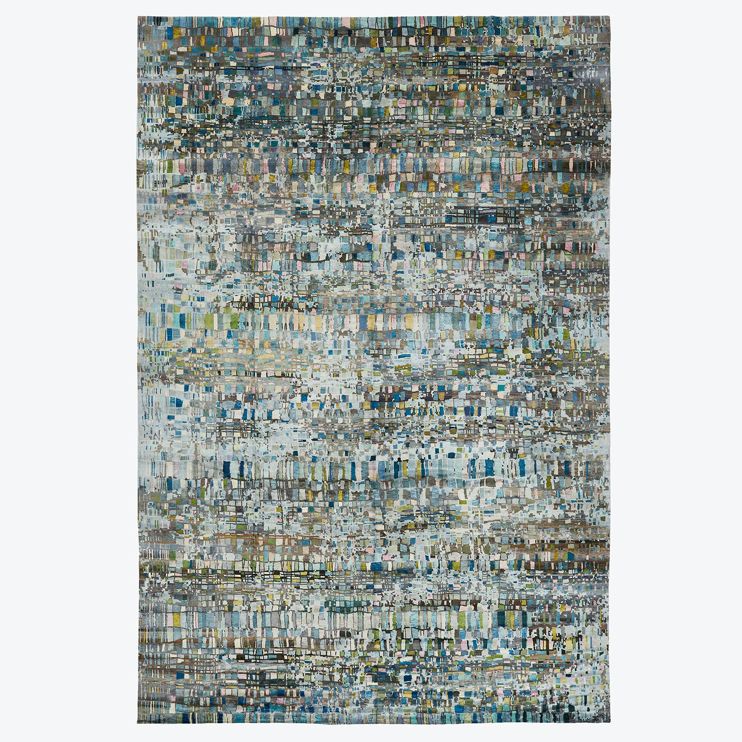 Prism Abstract Silk Rug 16'x24'