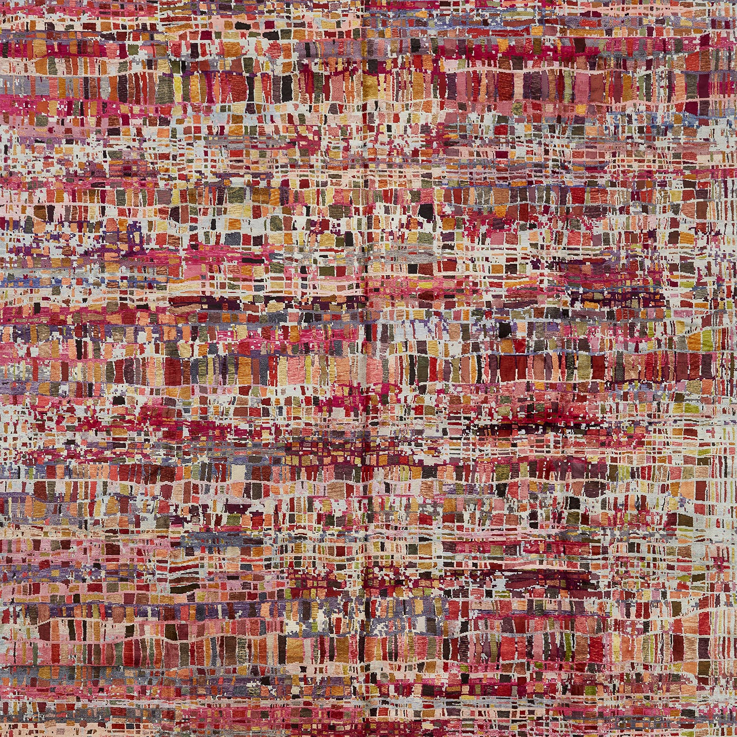 Prism Abstract Silk Rug 14'x20'