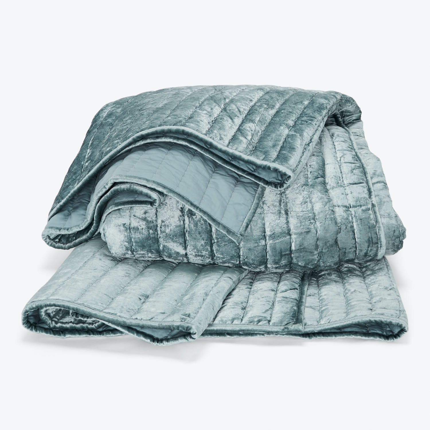 Kevin O'Brien Channel Velvet Quilted Coverlet King