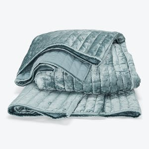 Product Image - Channel Velvet Quilted Coverlet