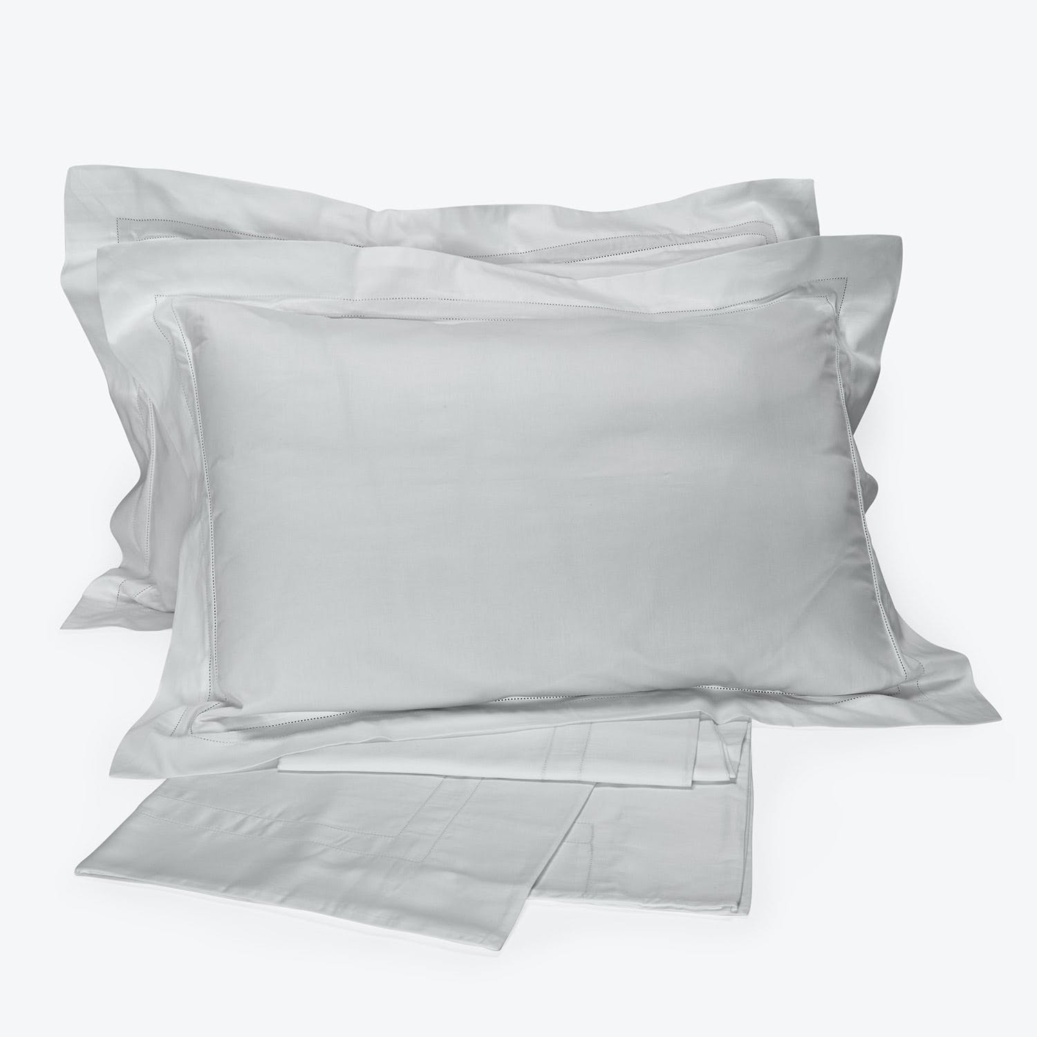 Product Image - Doppio Ajour Sheet Set Cliff gray Queen