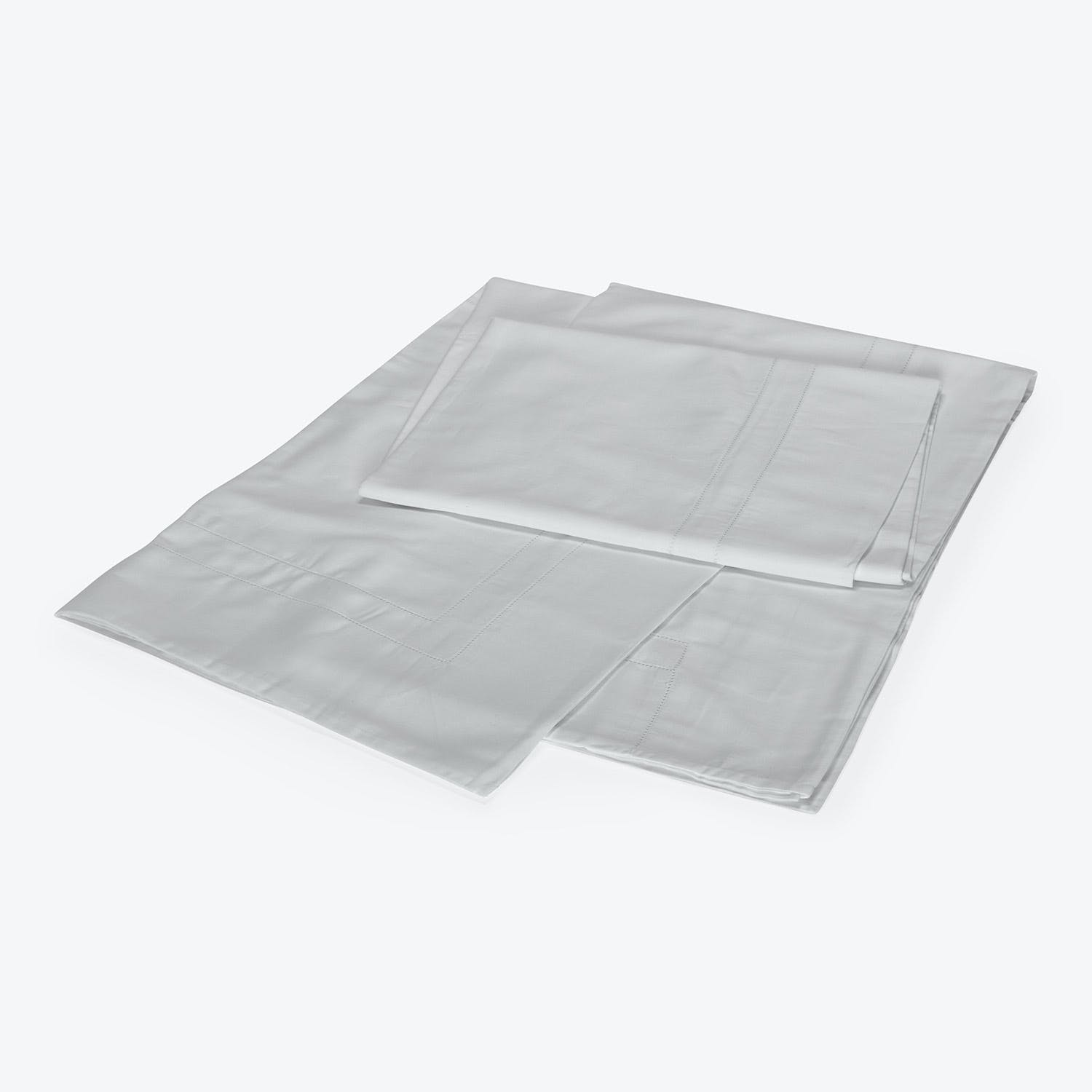 Doppio Ajour Sheet Set Cliff Grey