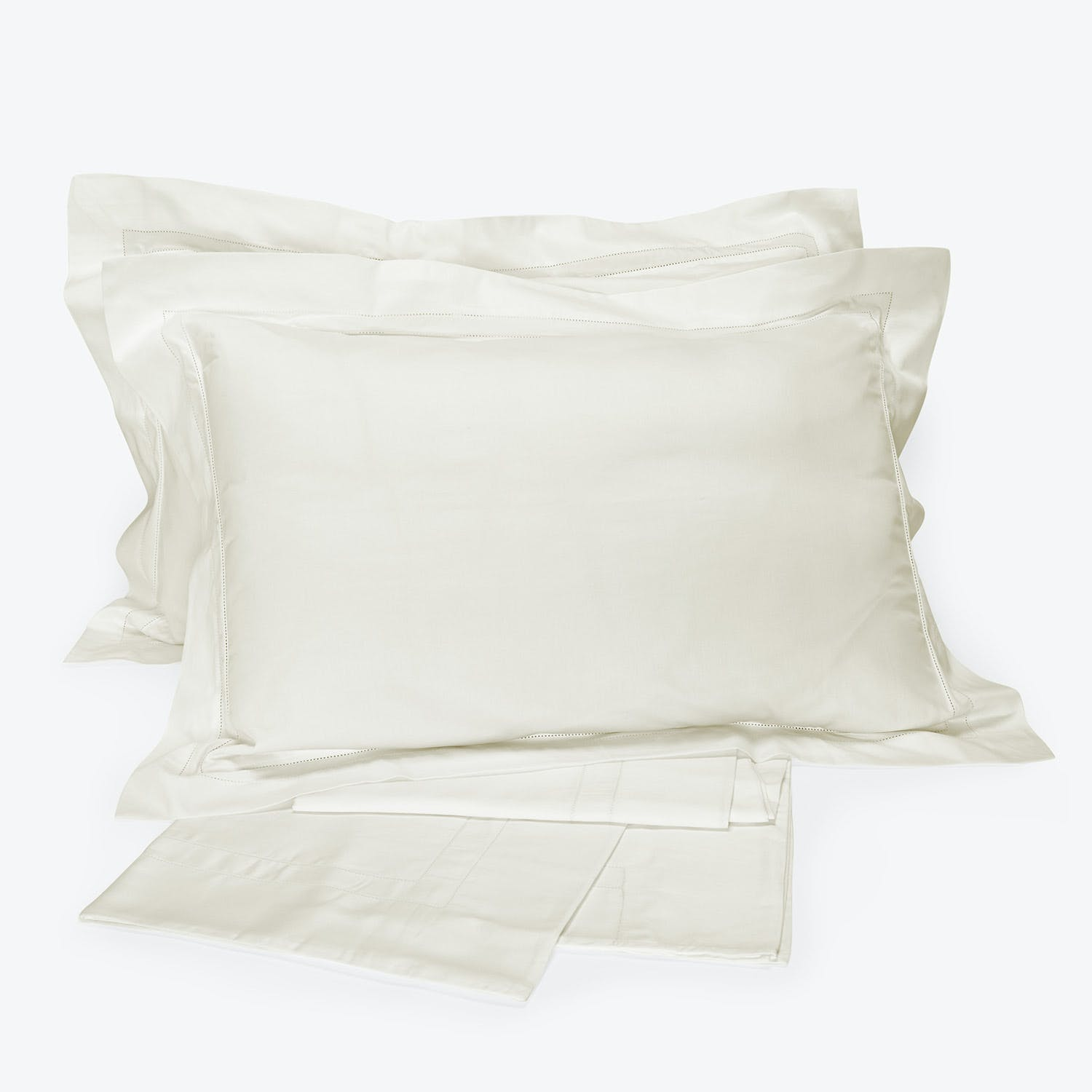 Doppio Ajour Sheet Set Milk