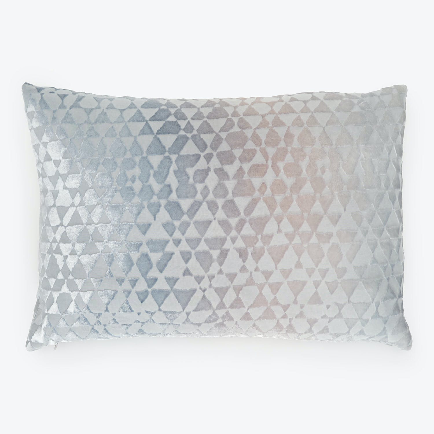 Product Image - Kevin O'Brien Triangles Velvet Pillow