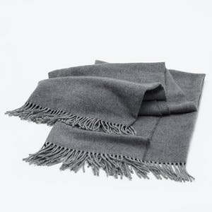 Product Image - Frette Pure Cashmere Throw Anthracite